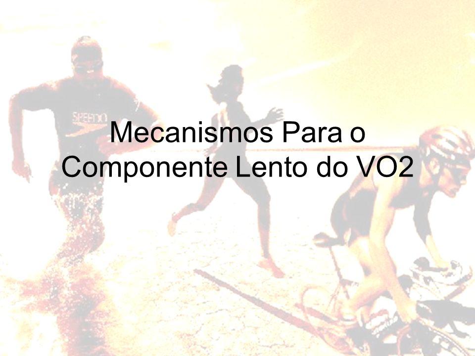 Mecanismos Para o Componente Lento do VO2