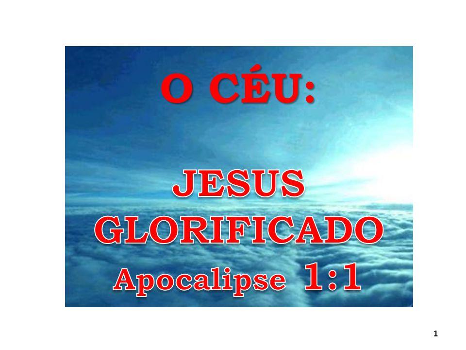 PERGUNTA PARA CLASSE DE ADOLESCENTES RESPOSTA: EM APOCALIPSE CAPÍTULO 1, COMO JOÃO DESCREVE O SENHOR JESUS GLORIFICADO.