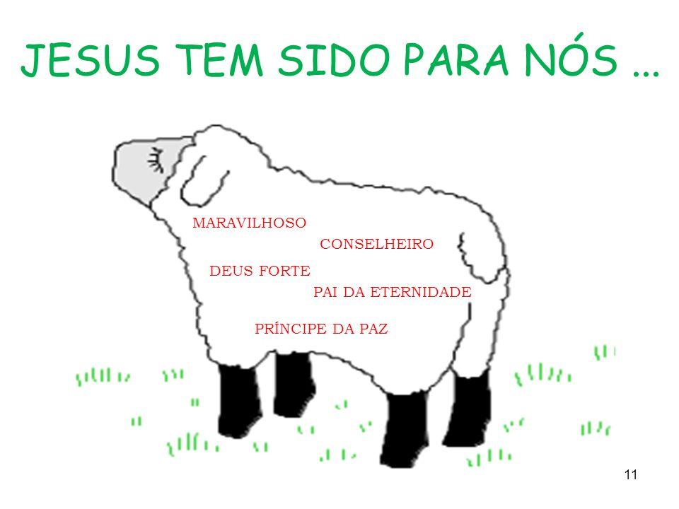 JESUS TEM SIDO PARA NÓS... MARAVILHOSO CONSELHEIRO DEUS FORTE PAI DA ETERNIDADE PRÍNCIPE DA PAZ 11
