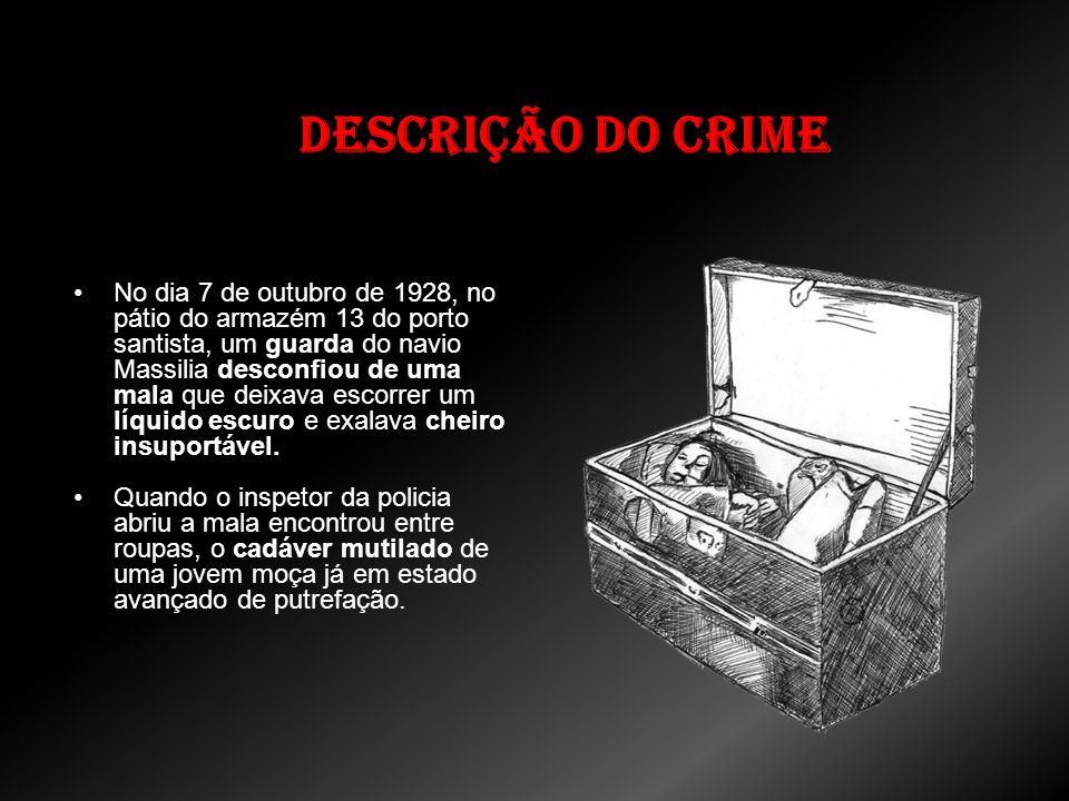 Finalização do caso (Reconstituição do Crime): Depois de estrangular a mulher, Pistone decidiu comprar uma mala, enfiar o corpo da esposa morta dentro e jogar em um rio, depois se suicidaria.