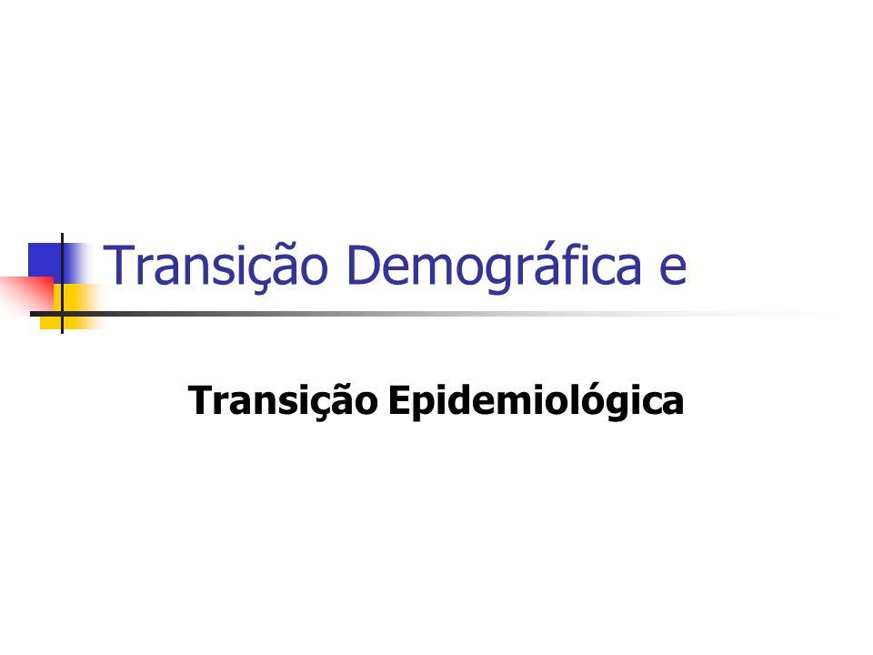 Transição Demográfica e Transição Epidemiológica