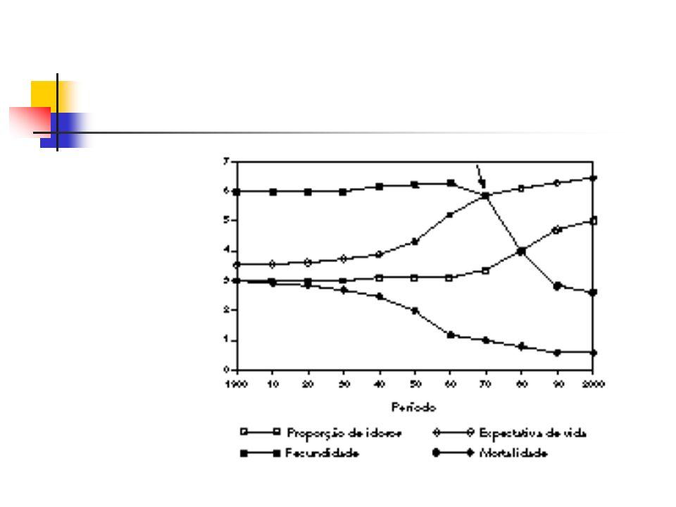 Perfil Demográfico - Brasil Considerando a continuidade das tendências verificadas para as taxas de fecundidade e longevidade As estimativas para os próximos 20 anos indicam que a população idosa chegará a 30 milhões de pessoas Chegando a representar quase 13% da população VER GRAFICO 1