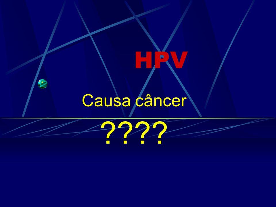 HPV Causa câncer ????