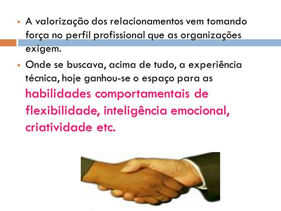 O relacionamento entre os membros de um grupo, sejam de simpatia e amizade ou de antipatia e confronto, resulta na criação ou na destruição de sua efi