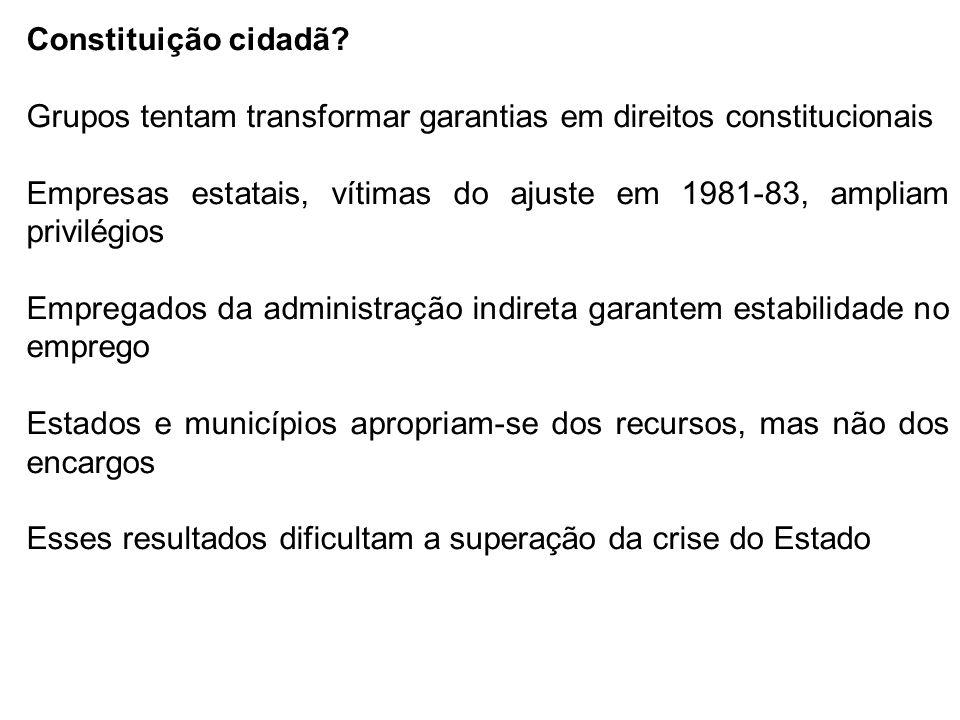 Constituição cidadã.