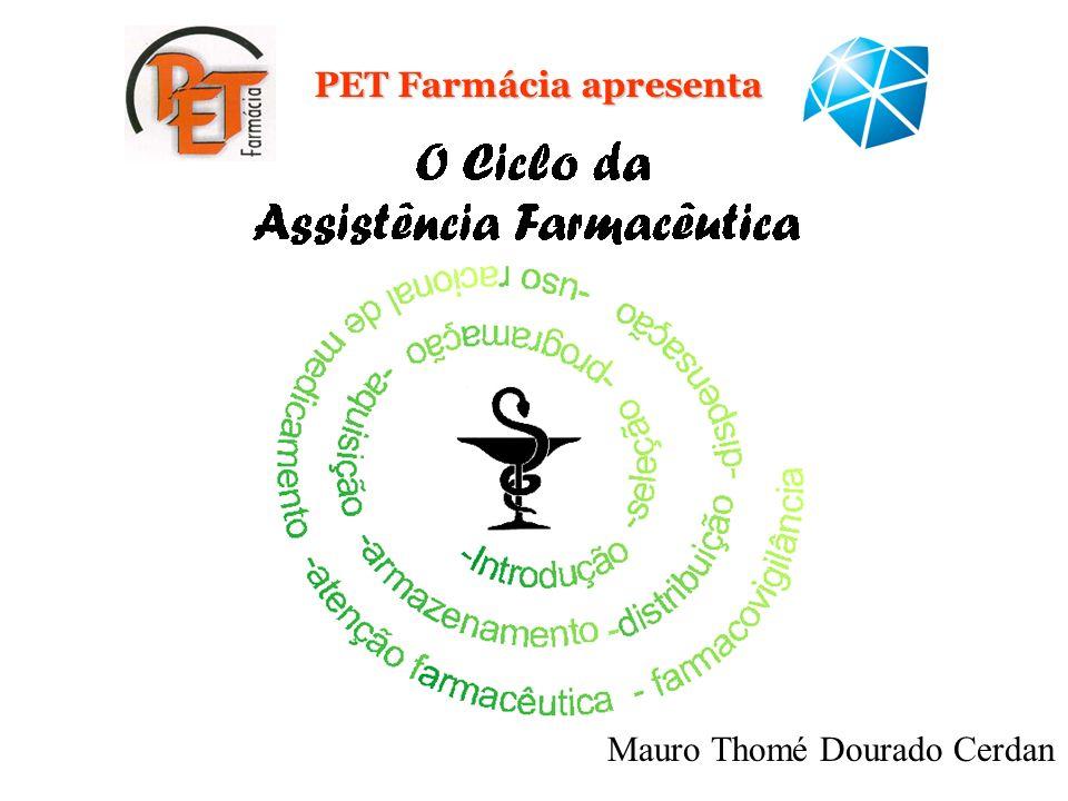 PET Farmácia apresenta Mauro Thomé Dourado Cerdan