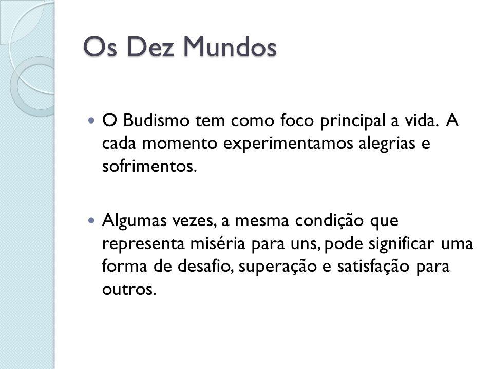 Os Quatro Nobres Caminhos Bodhisattva: Significa se esforçar ininterruptamente em busca da percepção do Buda.