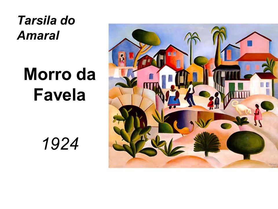 Tarsila do Amaral Morro da Favela 1924