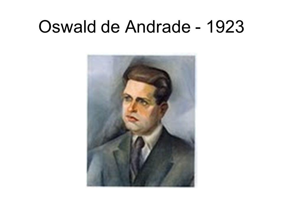 Oswald de Andrade - 1923