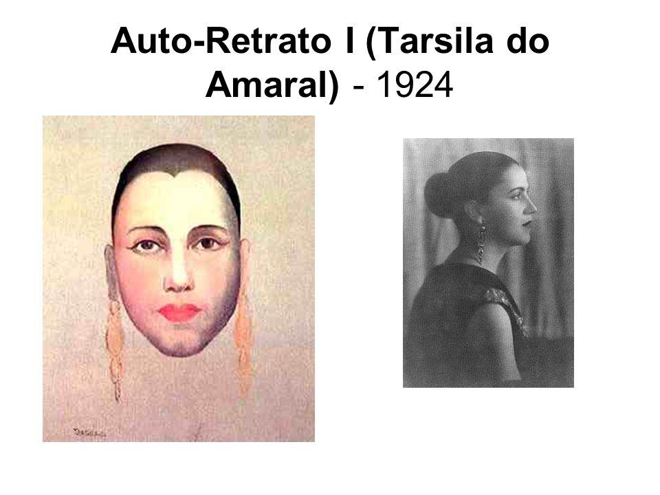 O Ovo ou Urutu - 1928 Nesta tela temos símbolos muito importantes da Antropofagia.