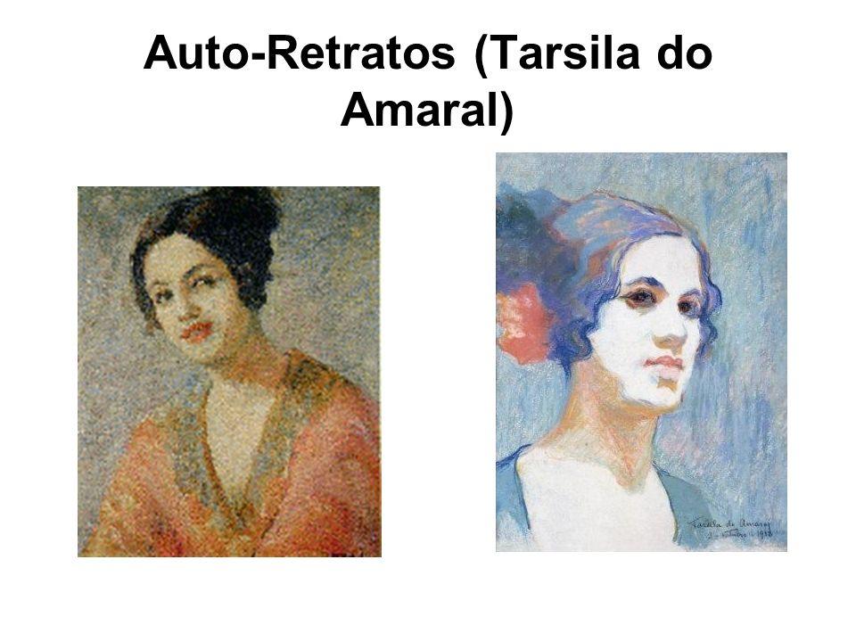 Chapéu Azul - 1922 Esta tela foi realizada depois de Tarsila frequentar o ateliê de Emile Renard.