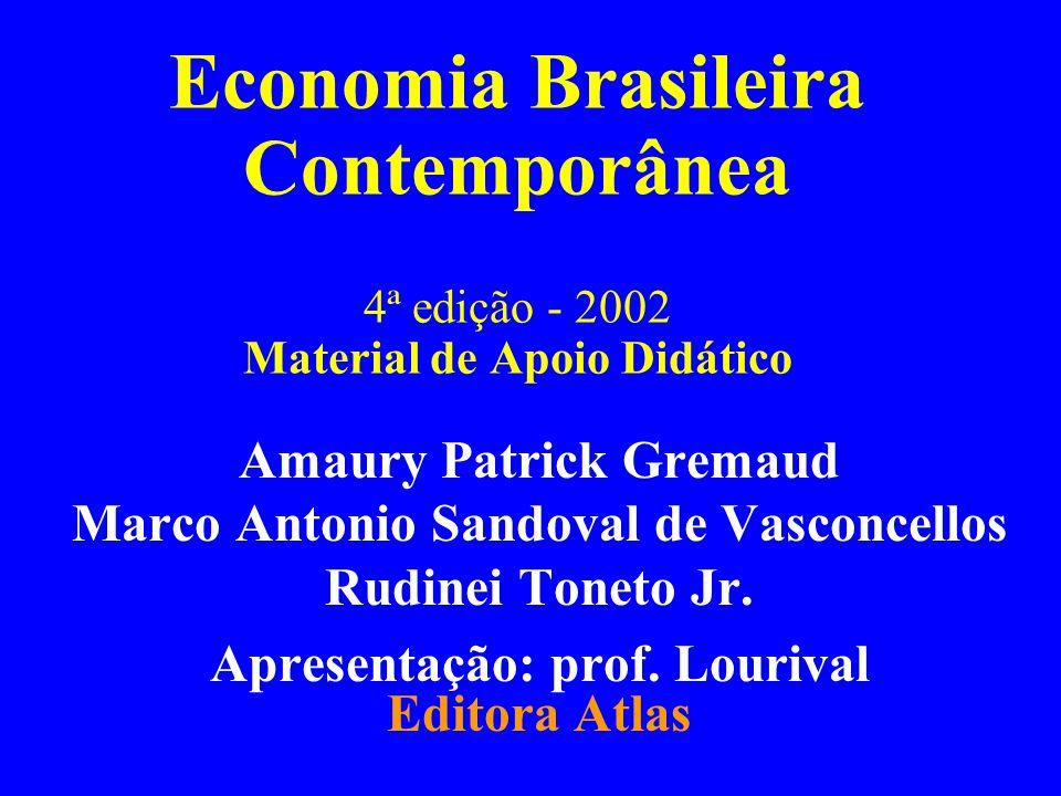 Parte III Capítulo 14Gremaud, Vasconcllos e Toneto Jr.2 Parte III: Abordagem Histórica da Economia Brasileira Capítulo 14: Processo de Substituição de Importações