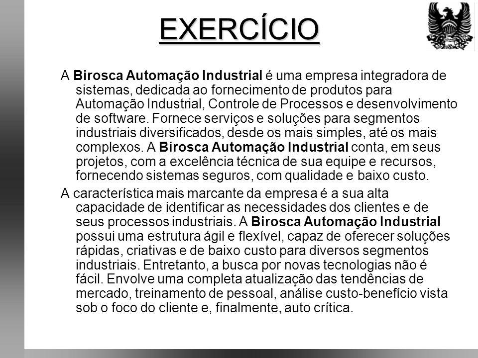A Birosca Automação Industrial é uma empresa integradora de sistemas, dedicada ao fornecimento de produtos para Automação Industrial, Controle de Processos e desenvolvimento de software.