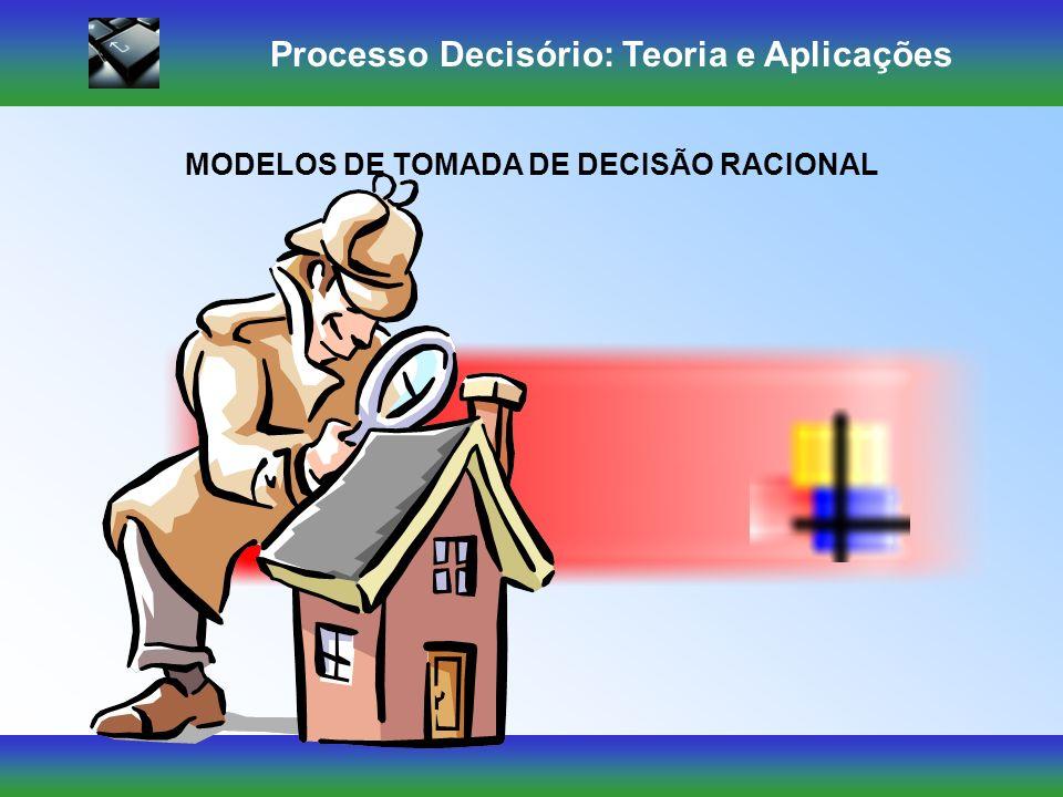 Processo Decisório: Teoria e Aplicações Mas cada decisão geralmente conduz a um curso de ação que exige outra decisão e assim por diante, até chegar a