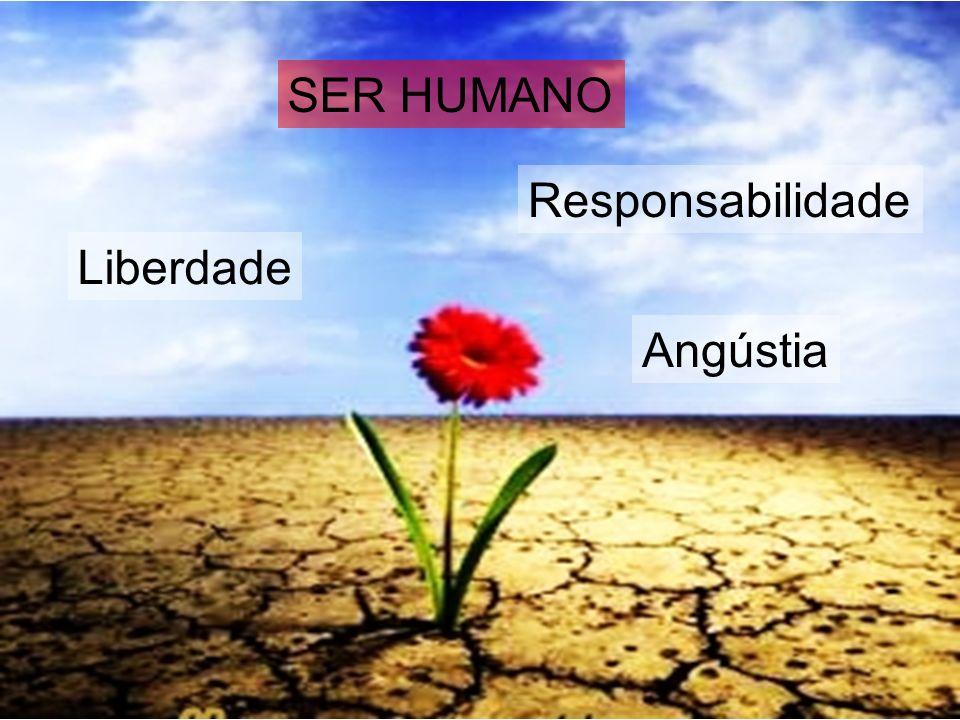 SER HUMANO Liberdade Responsabilidade Angústia