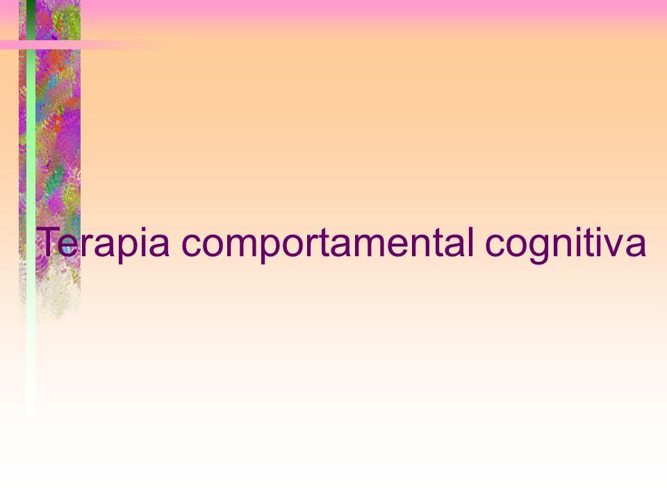 Terapia comportamental cognitiva