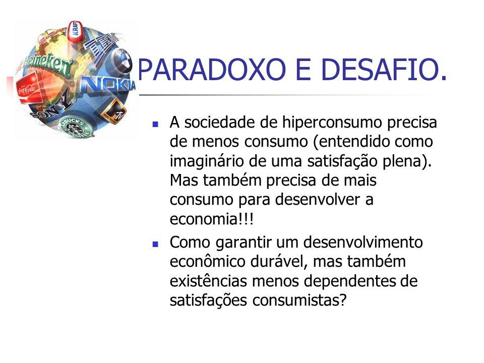 PARADOXO E DESAFIO.