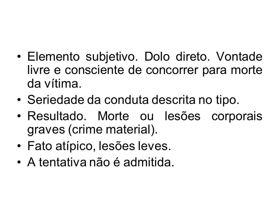 Aborto consensual (art.126) Art.