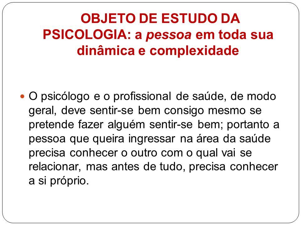 PRINCIPAIS MOVIMENTOS E ESCOLAS DA PSICOLOGIA 1.Estruturalismo; ( Wundt) 2.