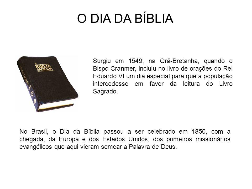 Surgiu em 1549, na Grã-Bretanha, quando o Bispo Cranmer, incluiu no livro de orações do Rei Eduardo VI um dia especial para que a população intercedes