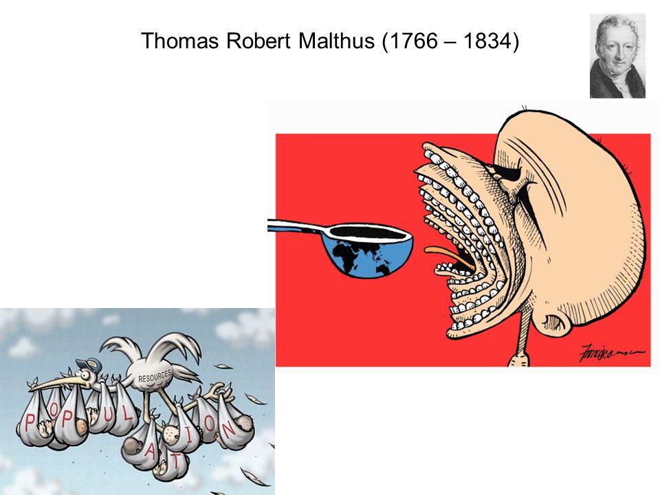 Thomas Robert Malthus (1766 – 1834)