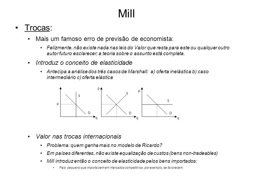 Mill Trocas: Mais um famoso erro de previsão de economista: Felizmente, não existe nada nas leis do Valor que resta para este ou qualquer outro autor