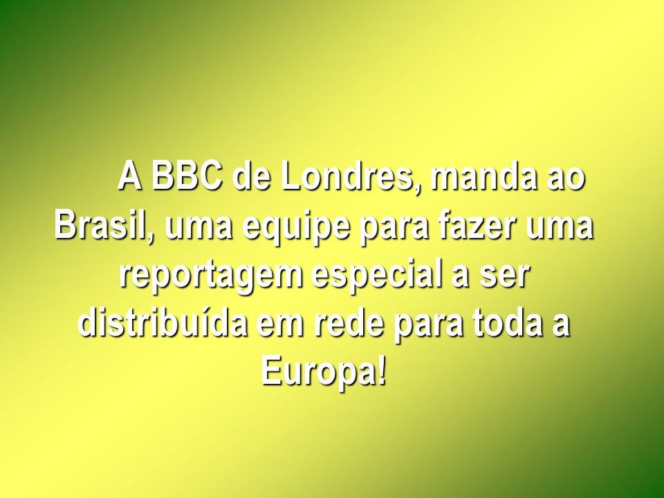 O povo brasileiro fica perplexo e chocado com o contraste!