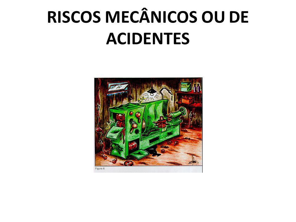 RISCOS MECÂNICOS OU DE ACIDENTES