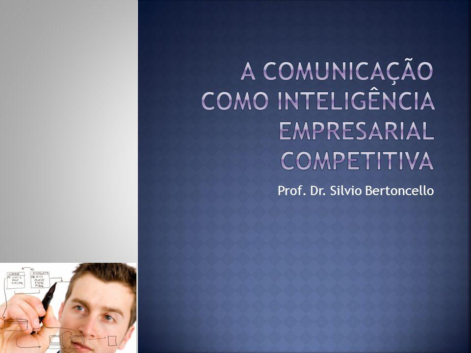 O Mercado e a Comunicação Inteligência Competitiva A Inteligência e o Planejamento Pesquisa e Comunicação A Ética da Inteligência Conclusão