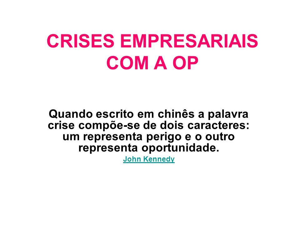 GERÊNCIA DE CRISES Disciplina nova na ciência do Management Gerência de Crises Empresariais com a Opinião Pública: CREDIBILIDADE REPUTAÇÃO IMAGEM EMPRE.