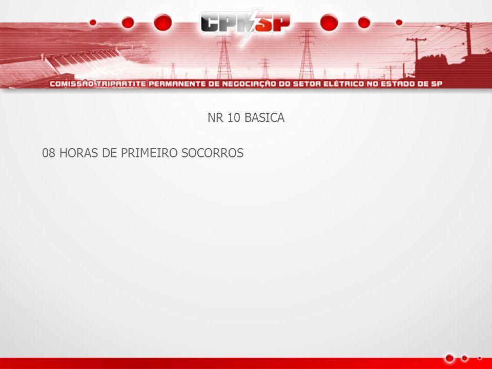 Apresentação A inovação da Convenção Coletiva de Segurança e Saúde no Trabalho do Setor Elétrico no Estado de São Paulo foi a criação de treinamento específico em aspectos de Engenharia de Segurança e Saúde no Trabalho, definindo tópicos e duração mínima, cujo teor foi reforçado no texto da NR 10.