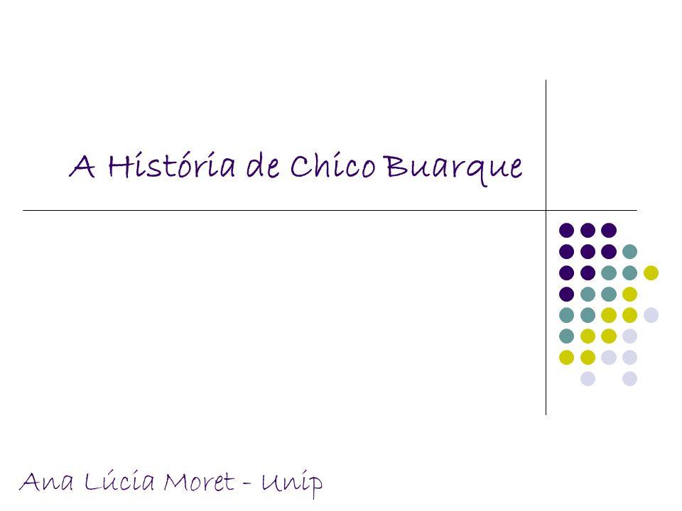 A História de Chico Buarque Ana Lúcia Moret - Unip