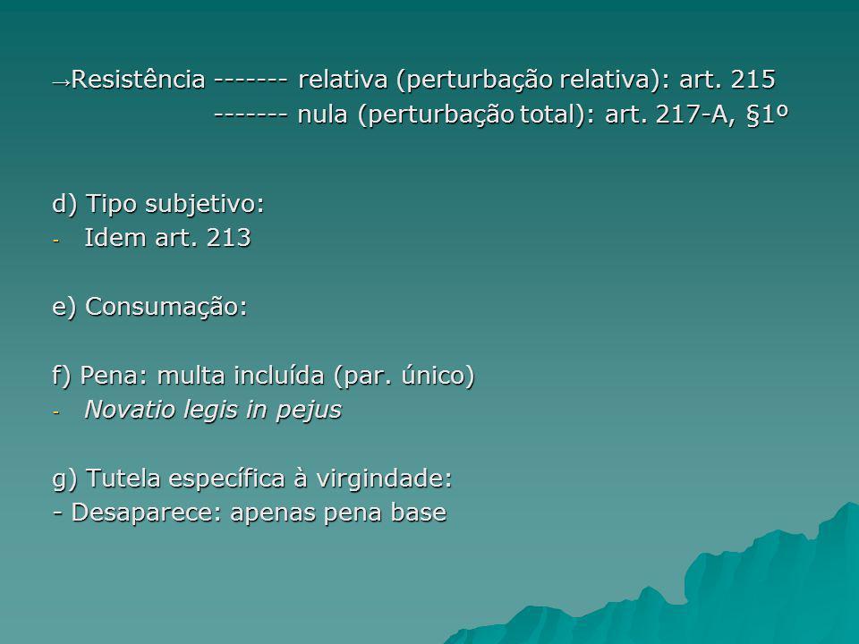 3.3 – Assédio sexual: Art.216-A.