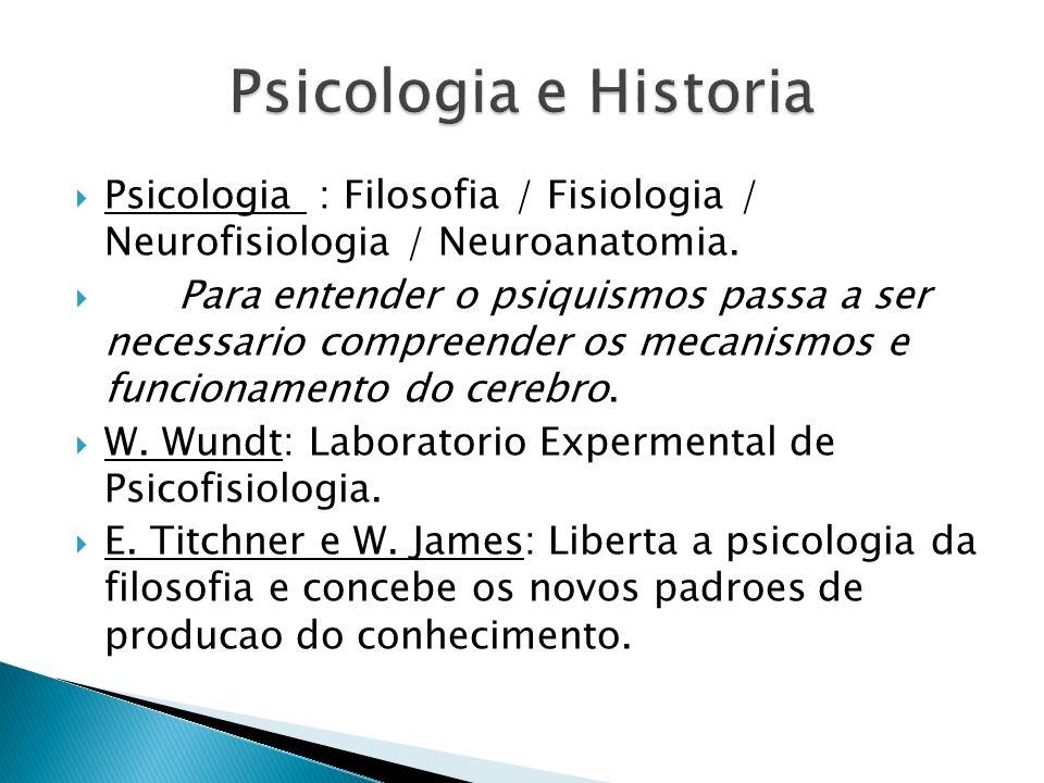 2 Abordagens: - Funcionaslismo (W.James): desenvolve o pragmatismo.