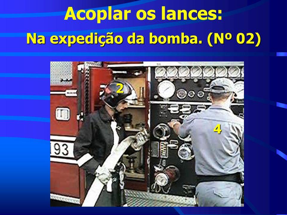 Acoplar os lances: Na expedição da bomba. (Nº 02) 2 4