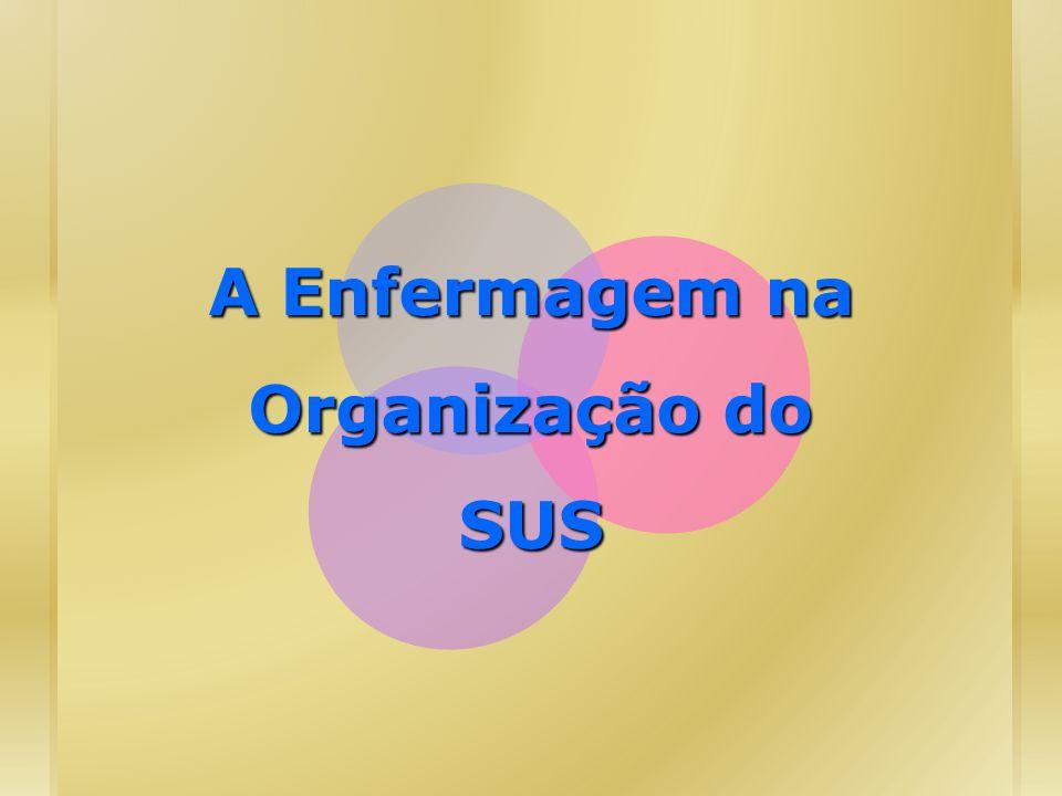 A Enfermagem na Organização do SUS