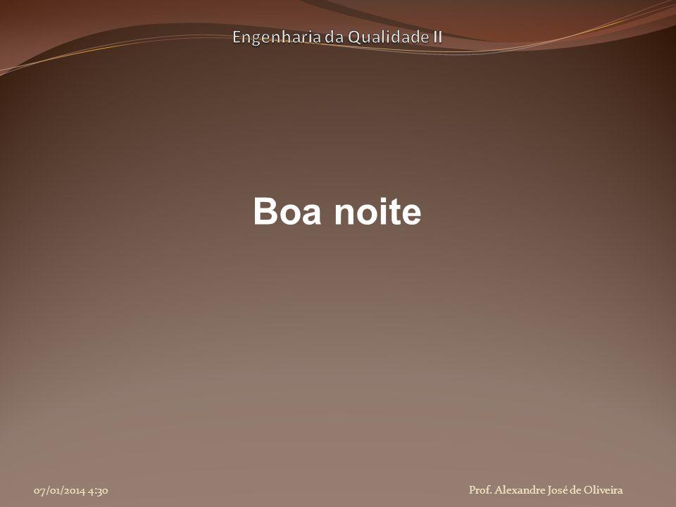 Boa noite 07/01/2014 4:32Prof. Alexandre José de Oliveira