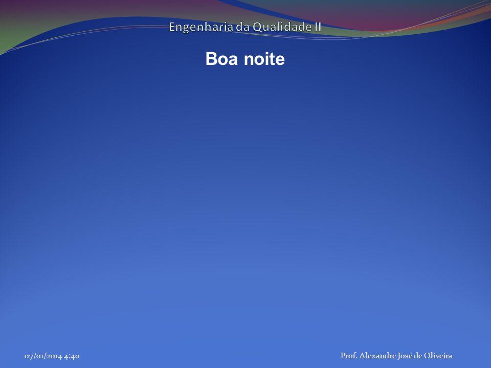 Boa noite 07/01/2014 4:42Prof. Alexandre José de Oliveira
