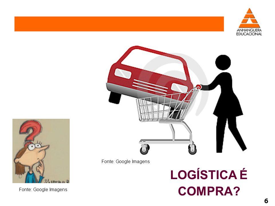 LOGÍSTICA É COMPRA? Fonte: Google Imagens 6