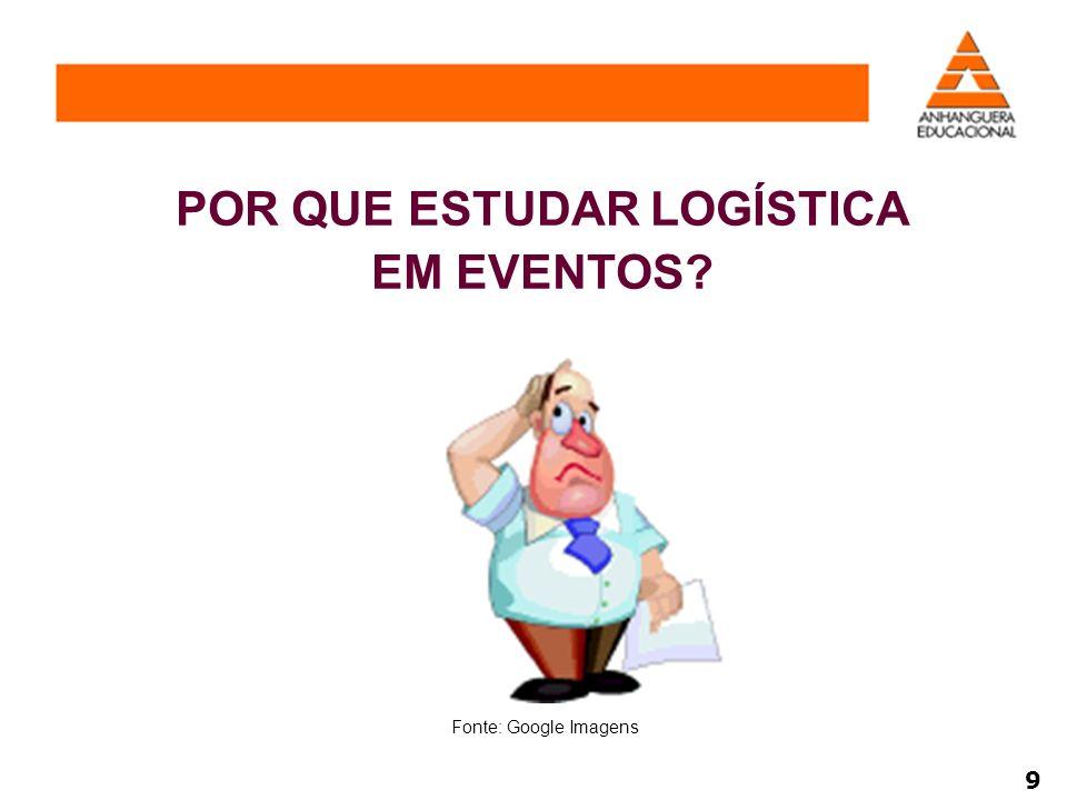 Em todas as atividades que realizamos existe uma logística.