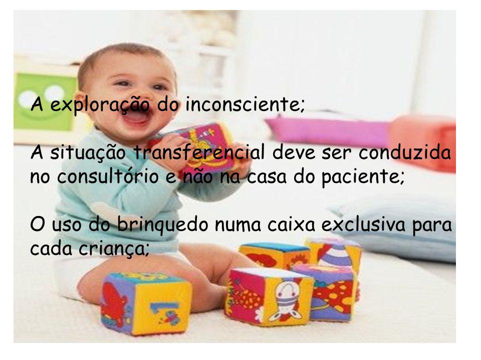 Uma criança brinca não somente para repetir situações satisfatórias mas também para elaborar as que lhe foram traumáticas e dolorosas ( Freud ) A expl