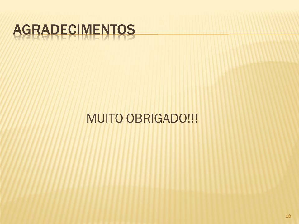 MUITO OBRIGADO!!! 18