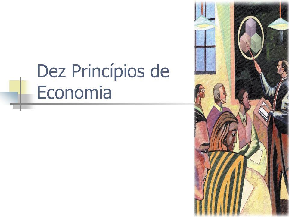 Resumo A produtividade de uma país determina o seu padrão de vida A sociedade enfrenta uma escolha difícil no curto prazo: inflação ou desemprego?
