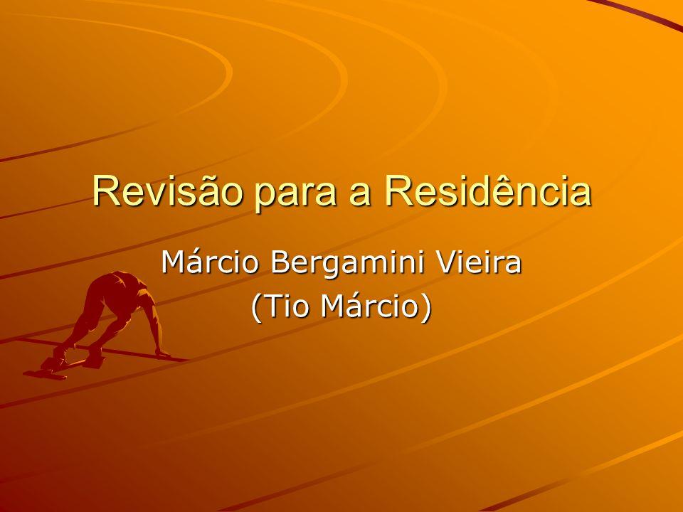 Revisão para a Residência Márcio Bergamini Vieira (Tio Márcio)