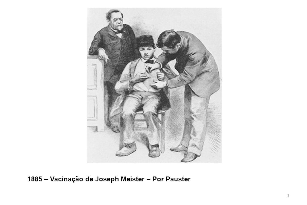 9 1885 – Vacinação de Joseph Meister – Por Pauster