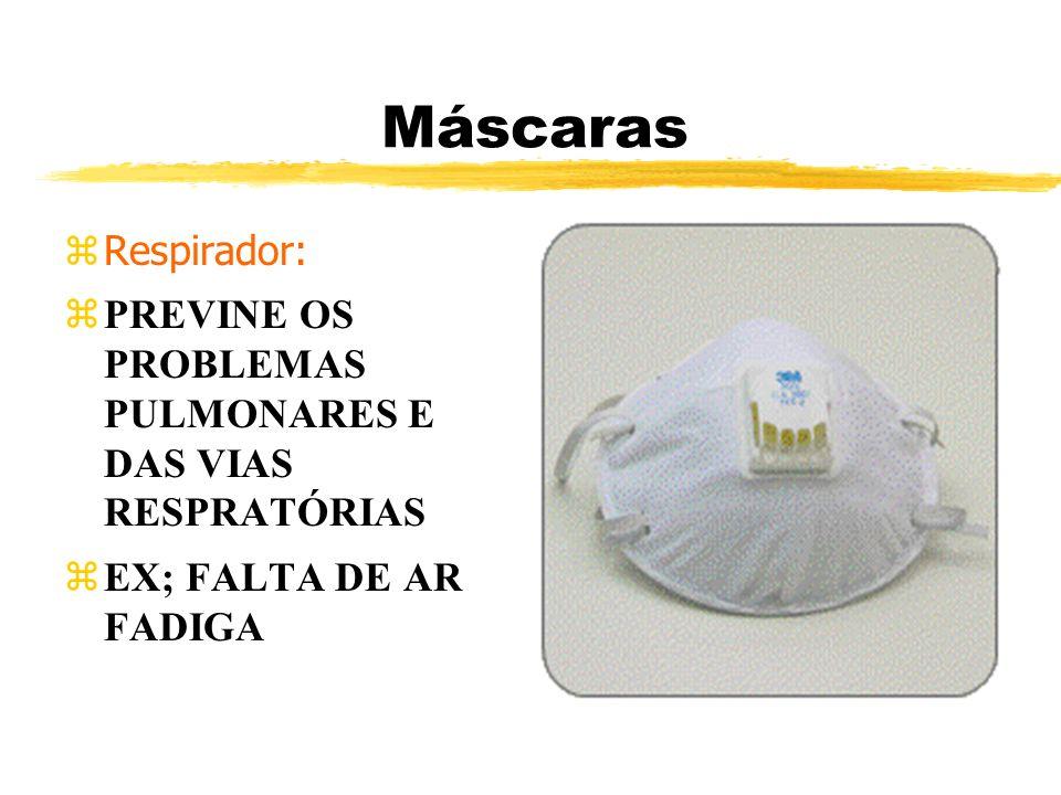 Máscaras zRespirador: zPREVINE OS PROBLEMAS PULMONARES E DAS VIAS RESPRATÓRIAS EX; FALTA DE AR FADIGA