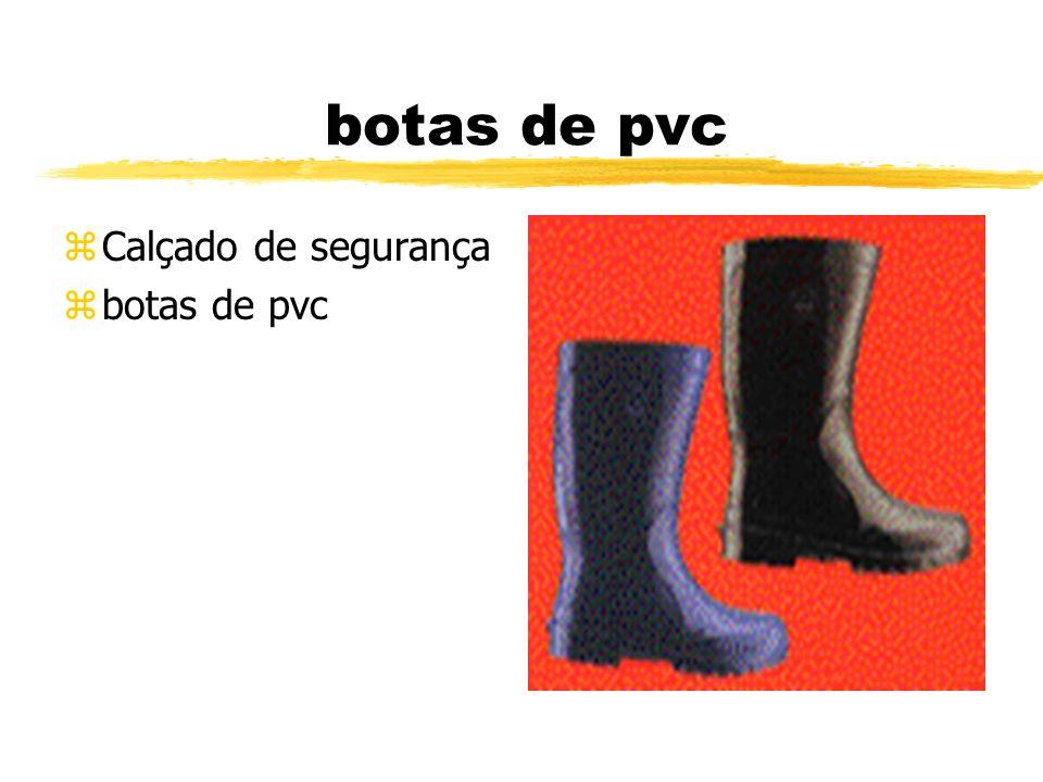 botas de pvc zCalçado de segurança zbotas de pvc