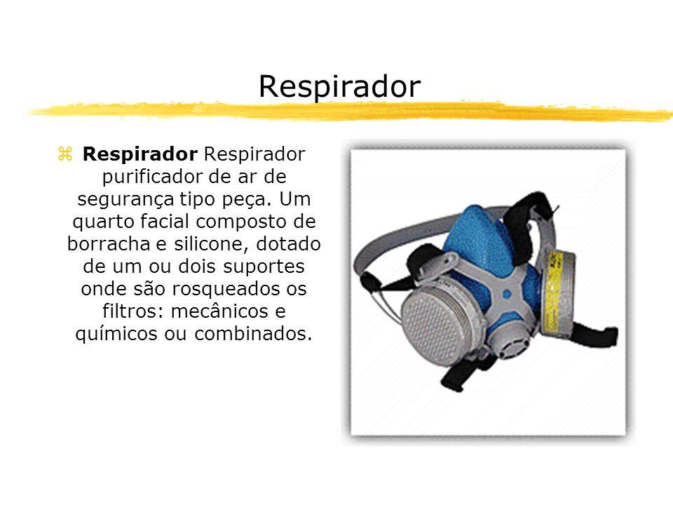 Respirador zRespirador Respirador purificador de ar de segurança tipo peça. Um quarto facial composto de borracha e silicone, dotado de um ou dois sup