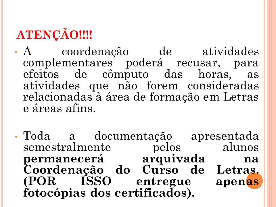 O R ELATÓRIO (E STUDOS ORIENTADOS )