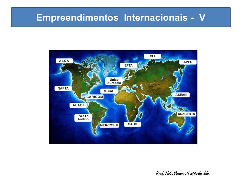 Empreendimentos Internacionais - V Prof. Hélio Antonio Teófilo da Silva.